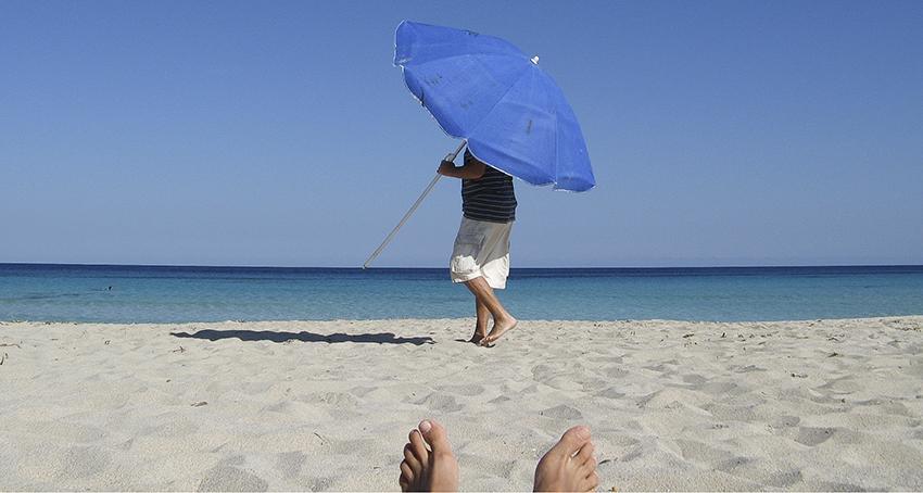 Adéu Formentera Sommer am Strand