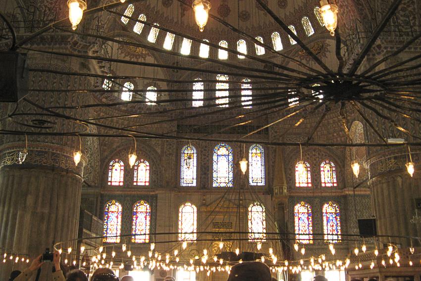 City Galerie Istanbul, Marrakech, Lissabon Blaue Moschee