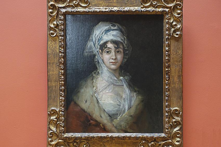 Zarenstadt Sankt Petersburg - Eremitage Antonia Zárate, Goya 1810