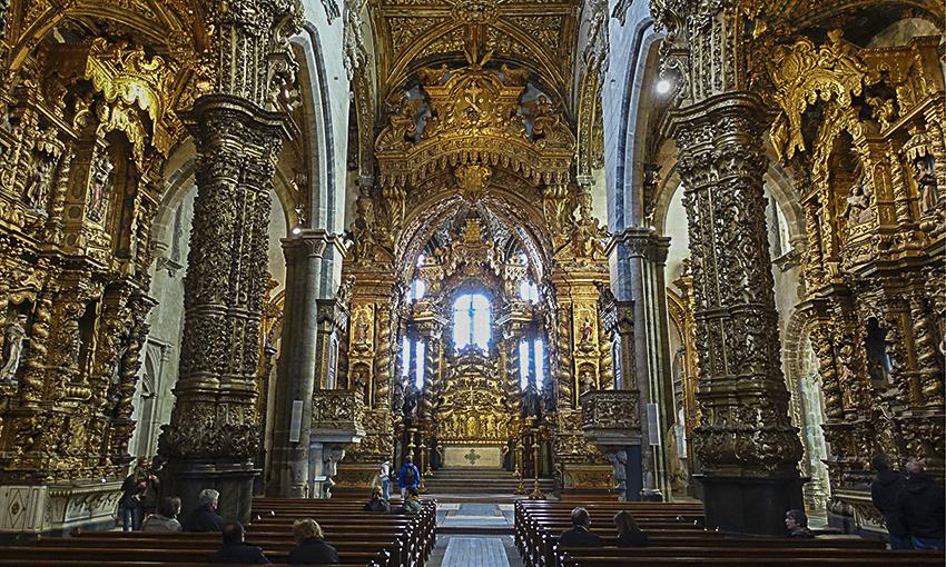 PORTO die barocke Stadt am Douro Igreja de São Francisco