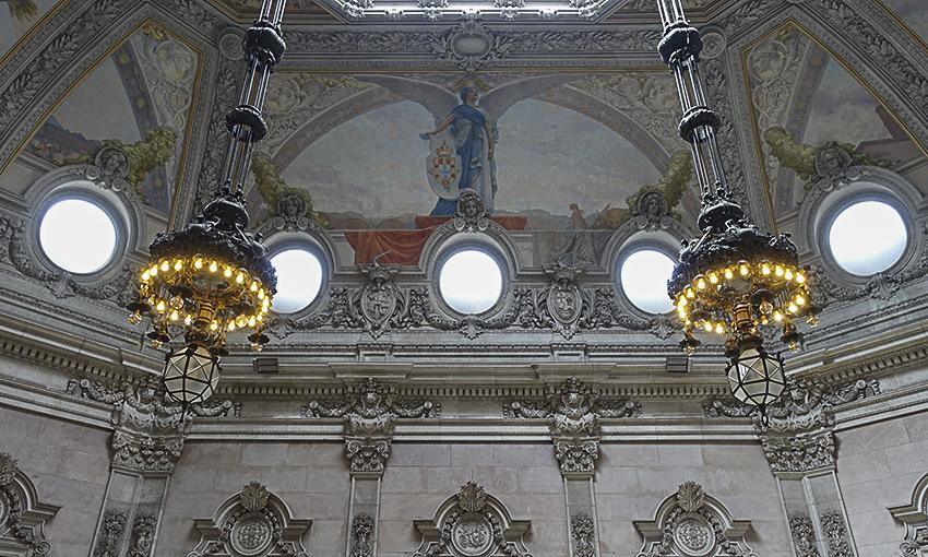 PORTO die barocke Stadt am Douro Börsenpalast