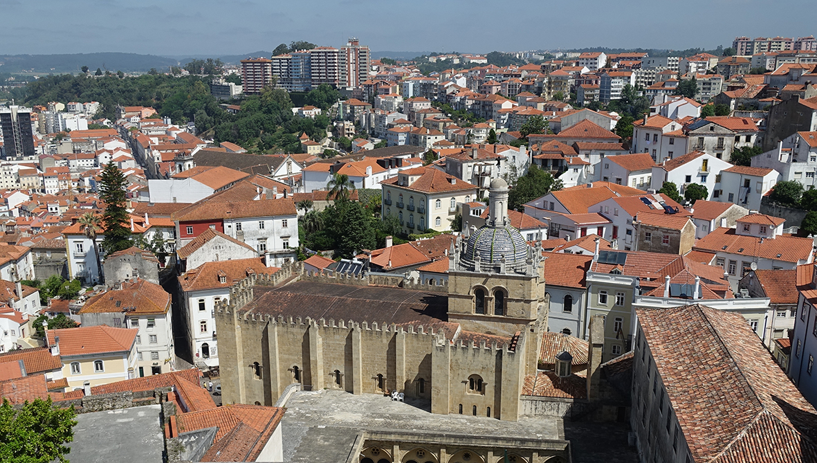 Coimbra Universitätsstadt - Lissabon Notizen Coimbra Se Kathedrale