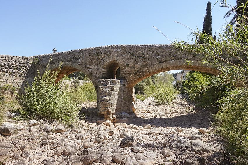 Mallorca Antik Römische Brücke Pollença