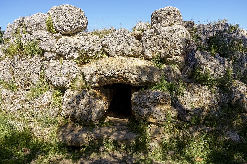 Mallorca Antik Talaiot Son Fred Eingang