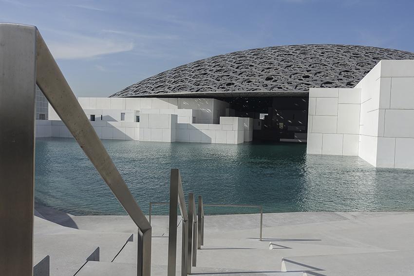 Louvre Abu Dhabi Museum Architektur