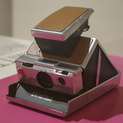 The polaroid Project Polaroid Kamera Sx-70
