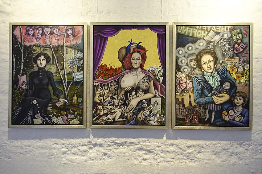 Mari Otzberg, Ida Demel, Domenica, Ida Ehre, 2018