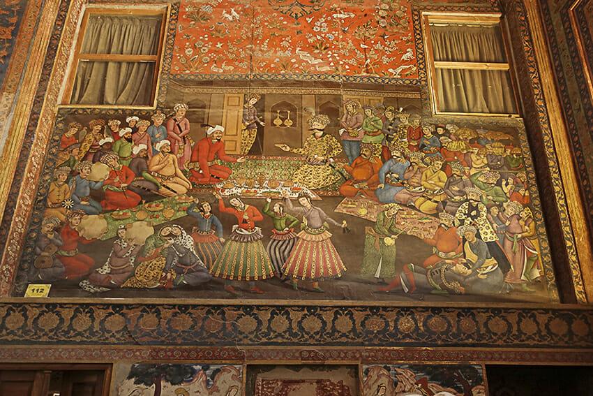 Chehel-Sotun-Palast Leben im Palast