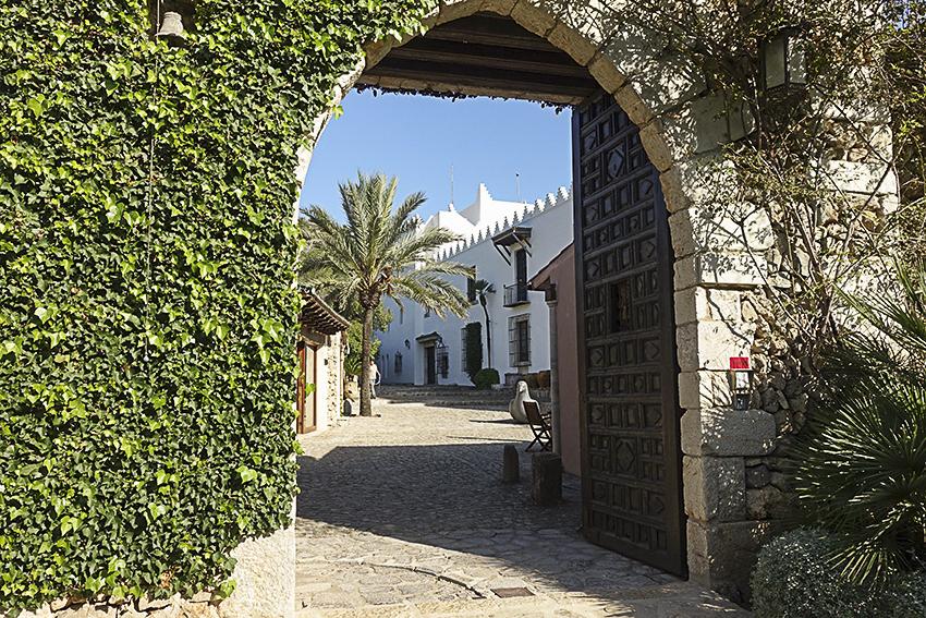 Museum Sa Bassa Blanca Eingang