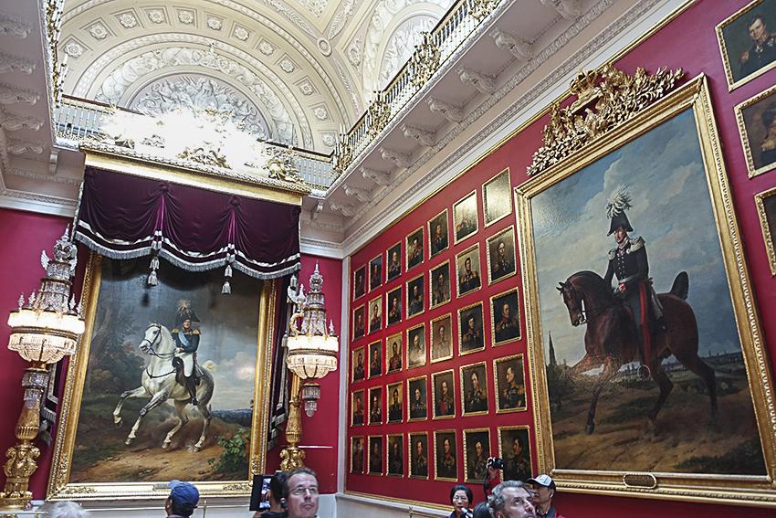 Zarenstadt Sankt Petersburg - Eremitage Eremitage, Bildergalerie