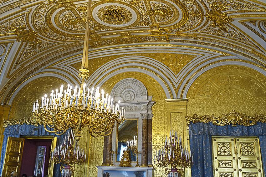 Zarenstadt Sankt Petersburg - Eremitage Eremitage, Privatgemächer