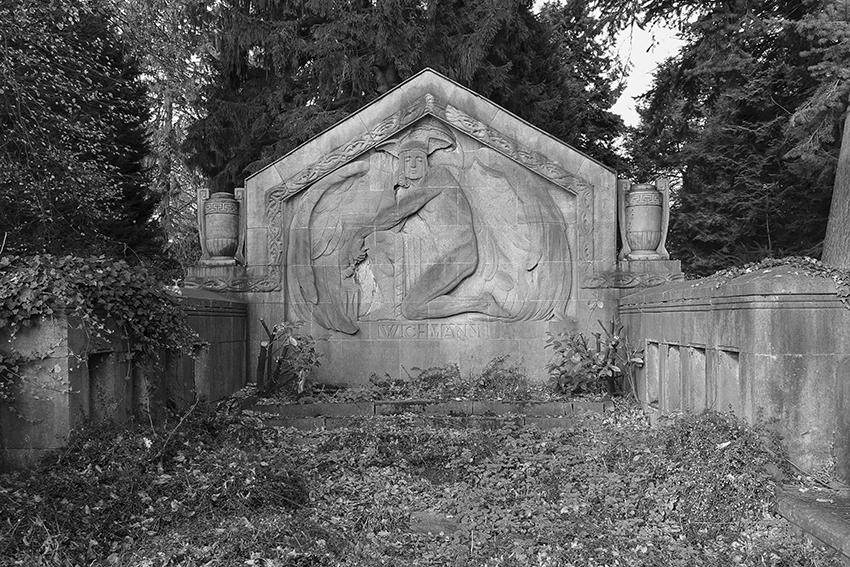 Ohlsdorfer Friedhof Große Grabanlage