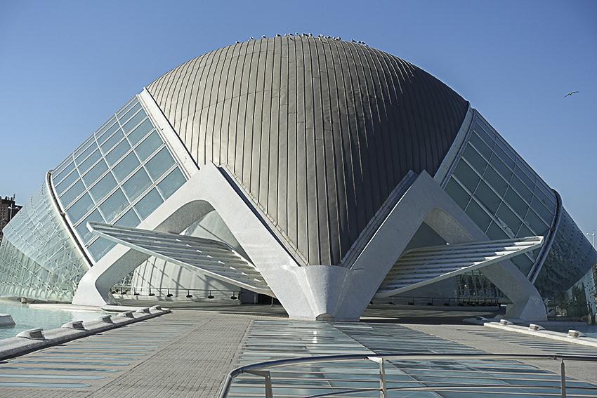 Hemisféric Valencia, Stadt der Künste und der Wissenschaften