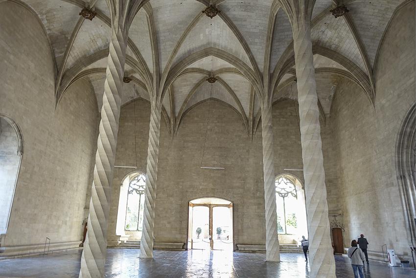 PALMA de Mallorca ein Kulturausflug Llotja Börse