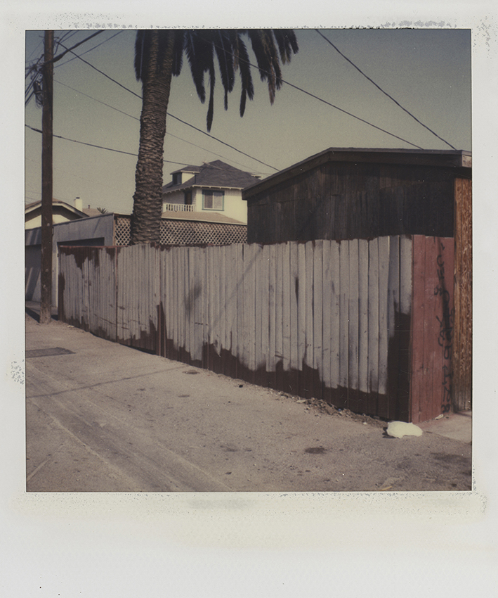 The polaroid Project MKG_Polaroid_Hopper_Los_Angeles__Back_Alley