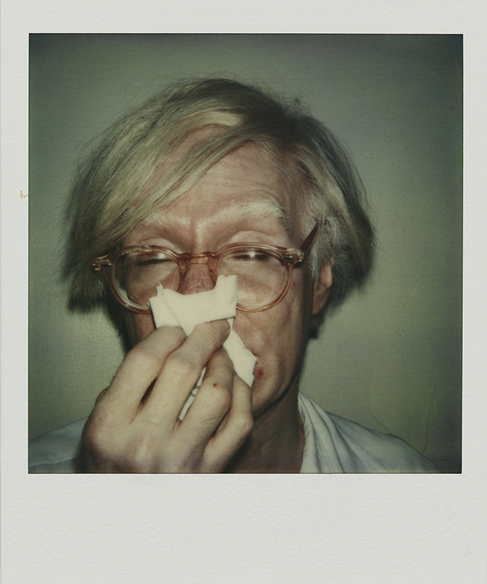 The polaroid Project MKG_Polaroid_Warhol_Andy_Sneezing