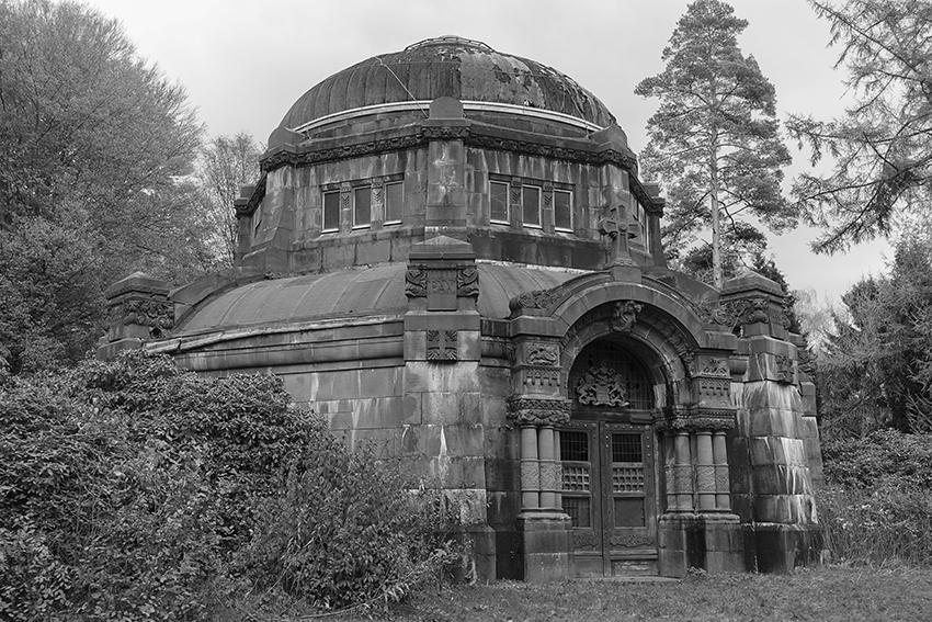 Ohlsdorfer Friedhof Mausoleum von Schröder