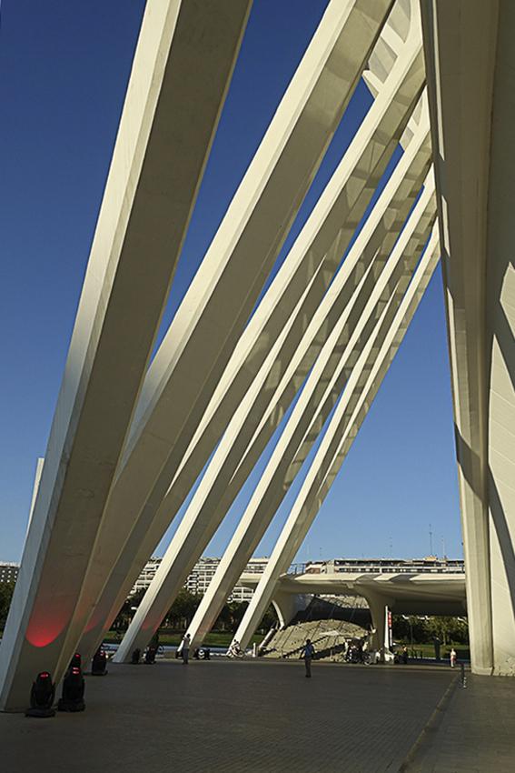 Museum Detail Valencia, Stadt der Künste und der Wissenschaften