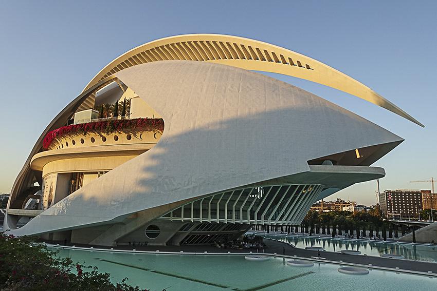 Oper Valencia, Stadt der Künste und der Wissenschaften