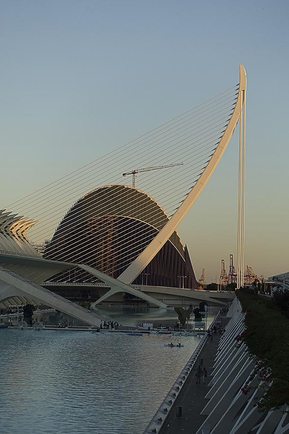 Pylon Valencia, Stadt der Künste und der Wissenschaften