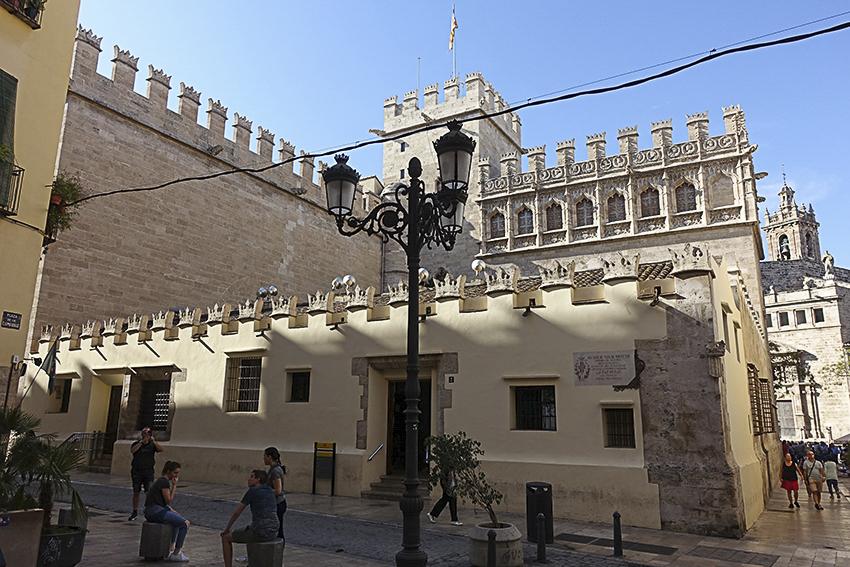 Seidenbörse Valencia, Highlights der historischen Altstadt