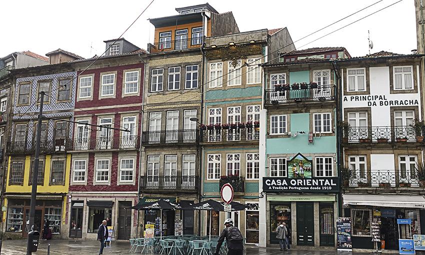 PORTO die barocke Stadt am Douro Häuser Porto